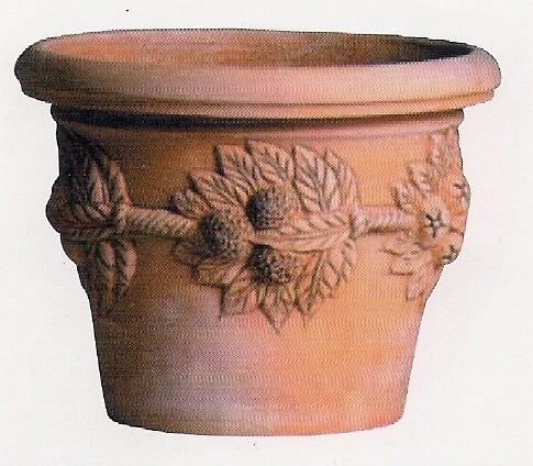 Eshop terracotta vasi cassette caspo 39 in terracotta for Limoni in vaso