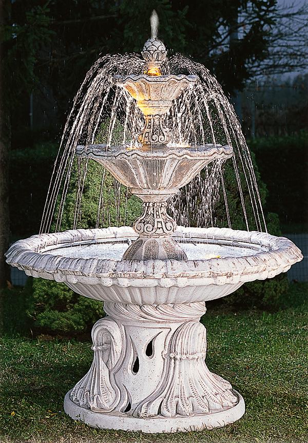 Eshop fontane da giardino in cemento con giochi d 39 acqua - Fontane in marmo da giardino ...